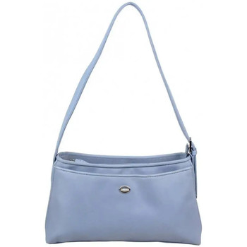 Sacs Femme Sacs porté épaule Paquetage Sac à main  toile satinée 55402 Bleu