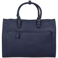 Sacs Femme Sacs porté main Fuchsia Sac à main cabas simple rectangle F1598-4 Bleu foncé