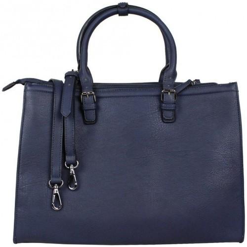 Fuchsia Sac à main cabas rectangle  F1598-4 bleu 6371361