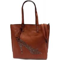 Sacs Femme Cabas / Sacs shopping Eternel Sac porté épaule cabas camel strass chaussure Camel