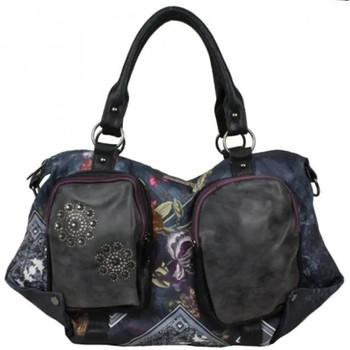 Sacs Femme Cabas / Sacs shopping Smash Sac épaule trapèze tissu imprimé  LTR-LISA BAG .Multicolore