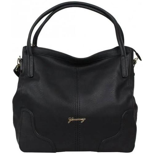 Sacs Femme Cabas / Sacs shopping Sélectionnée Par Nouvelty Sac cabas fantaisie Gusc14I018-1 Noir
