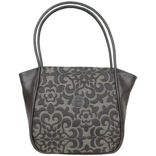 Sacs Femme Cabas / Sacs shopping Patrick Blanc Sac à main  forme petit trapèze 510052 Taupe