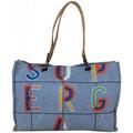Superga Grand sac cabas  toile motif effet peinture 20405