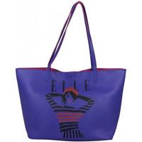 Sacs Femme Cabas / Sacs shopping Elle Sac épaule fourre-tout  Juste A Cover L5245 Bleu foncé