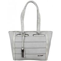 Sacs Femme Cabas / Sacs shopping Mac Alyster Sac décore bi matière  B560-5603 Gris