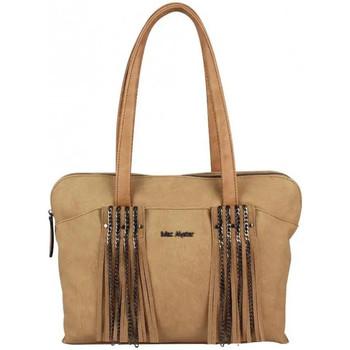 Sacs Femme Cabas / Sacs shopping Mac Alyster Sac déco franges et chaîne  B541-541A Taupe