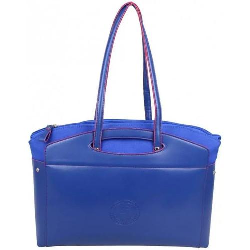Sacs Femme Cabas / Sacs shopping Patrick Blanc 2 en 1 sac à main et cabas L toile  Tandem Bleu