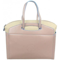 Sacs Femme Cabas / Sacs shopping Patrick Blanc 2 en 1 sac à main et cabas M toile  Tandem Beige