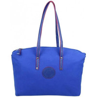Sacs Femme Cabas / Sacs shopping Patrick Blanc Sac cabas L toile  Solo Bleu foncé