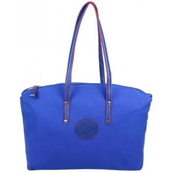 Sacs Femme Cabas / Sacs shopping Patrick Blanc Sac à main cabas L toile  Solo Bleu foncé