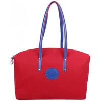 Sacs Femme Cabas / Sacs shopping Patrick Blanc Sac à main cabas L toile  Solo Rouge