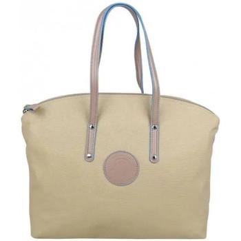 Sacs Femme Cabas / Sacs shopping Patrick Blanc Sac à main cabas M toile  Solo Beige