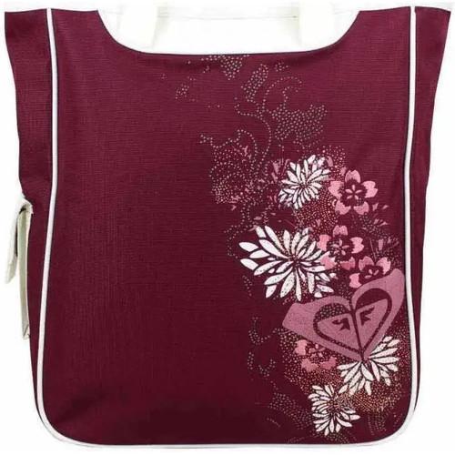 Sacs Femme Cabas / Sacs shopping Roxy Grand sac cabas épaule  imprimé motif fleurs XRWBA351 Rouge