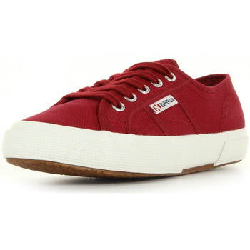 Chaussures Femme Baskets basses Superga 2750 cotu classic rouge