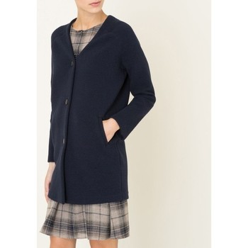 Vêtements Femme Robes Marie Sixtine MANTEAU ASTRID Bleu Nuit