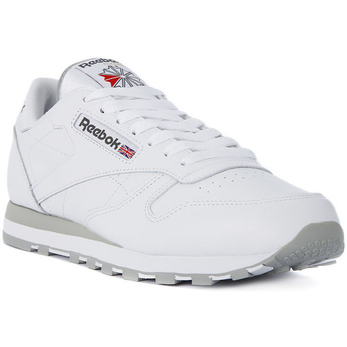 Chaussures Homme Baskets basses Reebok Sport CLASSIC LTHR Bianco