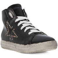 Chaussures Homme Baskets montantes Meline GO  VITELLO NERO    111,4