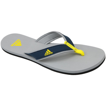 Chaussures Enfant Tongs adidas Originals Beach Thong Jr  S80628 Bleu,Gris,Jaune