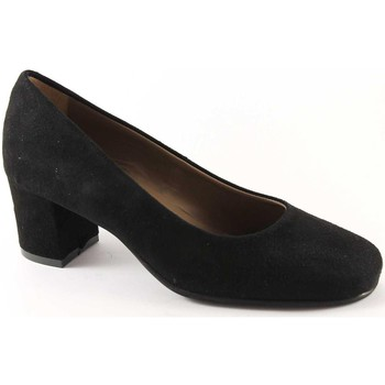Chaussures Femme Escarpins Grunland Grünland SOIE SC1569 daim noir chaussures femme dcollet Nero