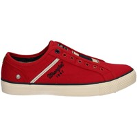 Chaussures Homme Baskets basses Wrangler WM171034 Sneakers Man Rouge Rouge
