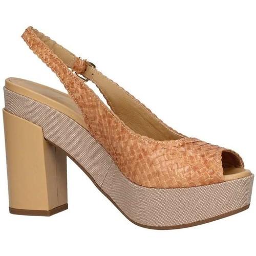 Chaussures Femme Sandales et Nu-pieds Lazzari Felici 2753 Sandale Femme Beige Beige