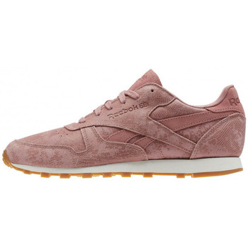 Chaussures Femme Baskets basses Reebok Sport Classic Leather Clean Exotics - Ref. BS8226 Rose