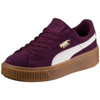 Chaussures Enfant Baskets basses Puma Suede Platform Junior - Ref. 363906-03 Violet