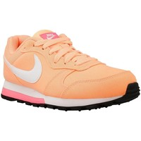 Chaussures Femme Baskets basses Nike Wmns MD Runner 2 Blanc-Rose-Orange