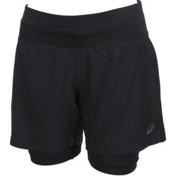 Vêtements Femme Shorts / Bermudas Asics 2n1  5 in short run l Noir