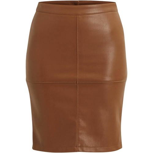 Vêtements Femme Jupes Vila VIPEN NEW SKIRT Beige