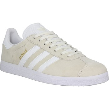 Chaussures Homme Baskets basses adidas Originals Gazelle velours Homme Beige Beige