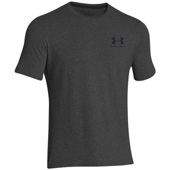 Vêtements Homme T-shirts manches courtes Under Armour Left Chest Logo Noir