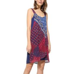 Vêtements Femme Robes courtes Desigual Robe Cassidy Fucsia Luxor Rose 17WWVWC4 Rose