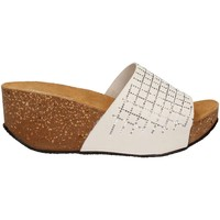 Chaussures Femme Mules Cinzia Soft IG9304 Sandales Femmes Bianco Bianco