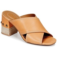 Chaussures Femme Mules See by Chloé SB30083 Camel