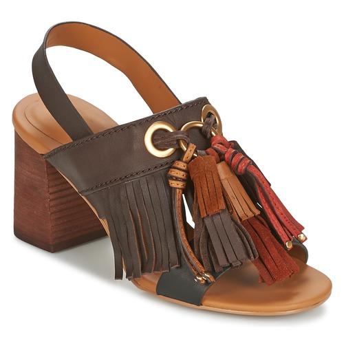 Chaussures Femme Sandales et Nu-pieds See by Chloé SB30102 Marron