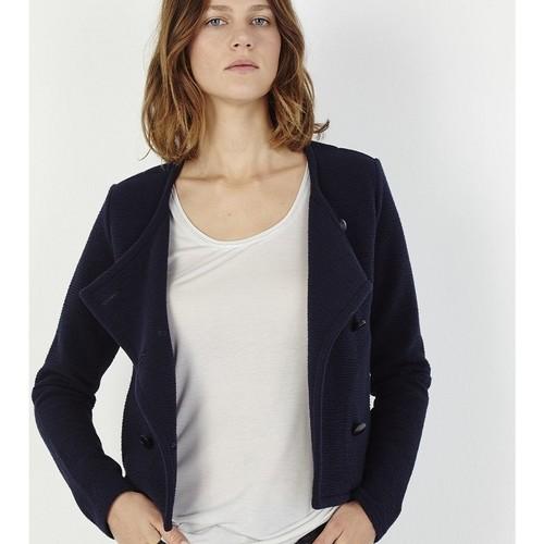 Vêtements Femme Vestes Marie Sixtine VESTE AUREL Bleu Nuit