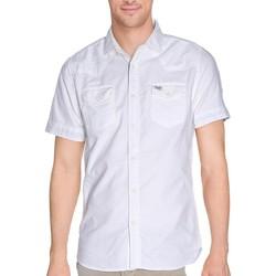 Vêtements Homme Chemises manches courtes Petrol Industries CHEMISE MSS16SIS414 BLANC
