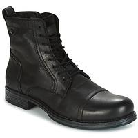 Chaussures Homme Boots Jack & Jones RISSOL Noir