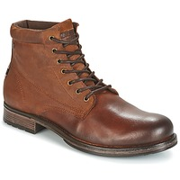 Chaussures Homme Boots Jack & Jones JUSTIN Marron