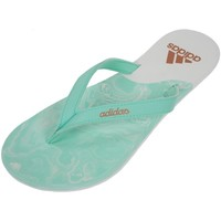 Chaussures Femme Tongs adidas Originals Eezay ice cream Vert d'eau aqua