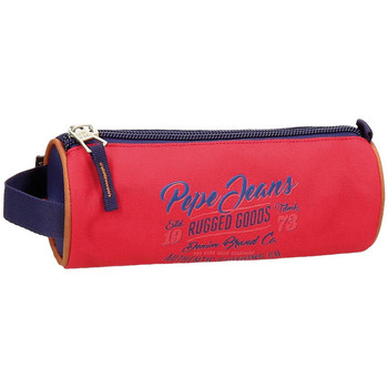 Sacs Trousses Pepe jeans Trousse Jake  ref_ser41457 rouge rouge