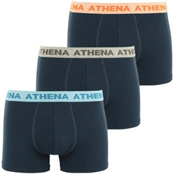 Vêtements Homme Boxers / Caleçons Athena Lot de 3 boxers homme Authentic marinemarinemarine