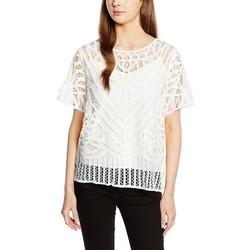 Vêtements Femme Chemises / Chemisiers Suncoo LUKAS Blanc Cassé
