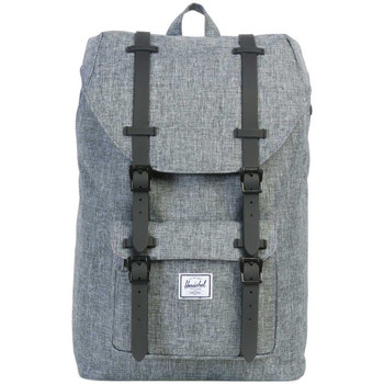 Sacs Sacs à dos Herschel Little America Mid-Volume Raven Crosshatch / Black Rubber