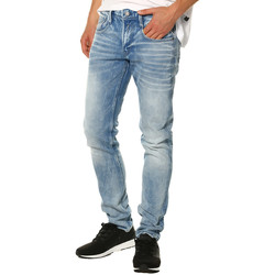 Vêtements Femme Jeans droit Replay Jeans HOMME - ANBASS M914F15C952.010_11.5 OZ LIGHT BLUE INDIGO Bleu