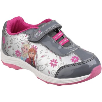 Chaussures Fille Baskets basses Cortina FZ002151 Frozen Trainer Pink