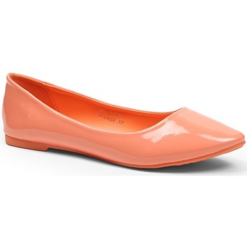 Chaussures Femme Ballerines / babies Pomme Passion Ballerines vernies classiques Patsy Orange