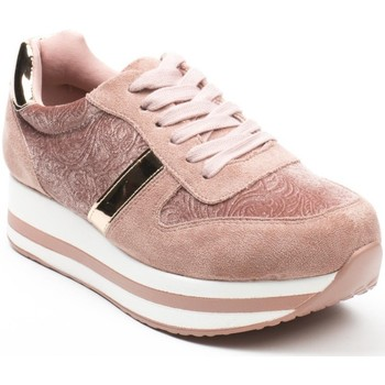 Chaussures Femme Baskets basses Pomme Passion Baskets style running bi-matière Cornelia Rose
